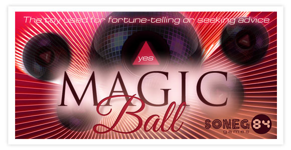Free game for android - Magic Ball. The Magic Ball is an application used for fortune-telling or seeking advice!