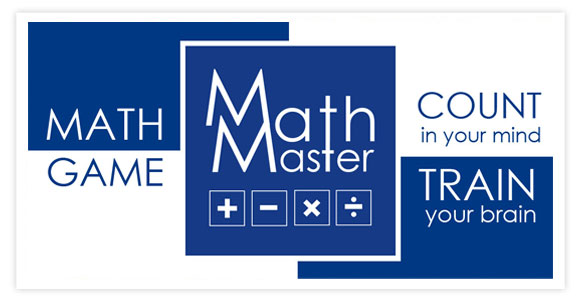 Free game for android and ios - Math Master. Count in your mind! Train your brain! Math Master – is a mathematical game in which you have to solve a lot of interesting mathematical examples, test your brain on counting in mind and, if necessary, to develop this skill.