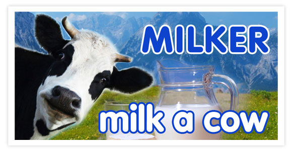 Free game for android - Milk a cow: Milker. Milk a cow - feel like a milker. Have you ever milked a cow? You know how to milk a cow? Prove it!
