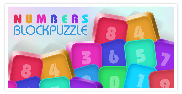 Free game for android and ios - Numbers Block Puzzle. Classic, fun and most popular addictive match 3 block game.