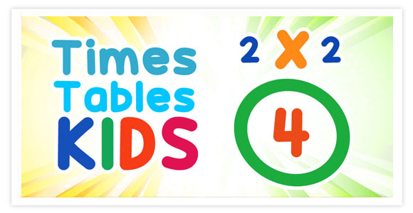 Free game for android and ios - Times Tables Kids. Teach and test your children's knowledge in multiplication in easy and fun way.